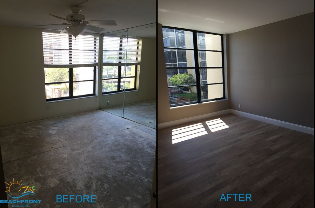 Master-Bed, beachfront builders, boca raton, boca bayou, florida remodel apartment, remodel project, rennovated apartment