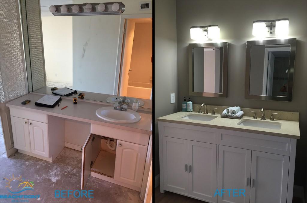 vanity-master remodel, boca raton, beachfront builders, remodel apartment, new renovated apartment delray beach florida