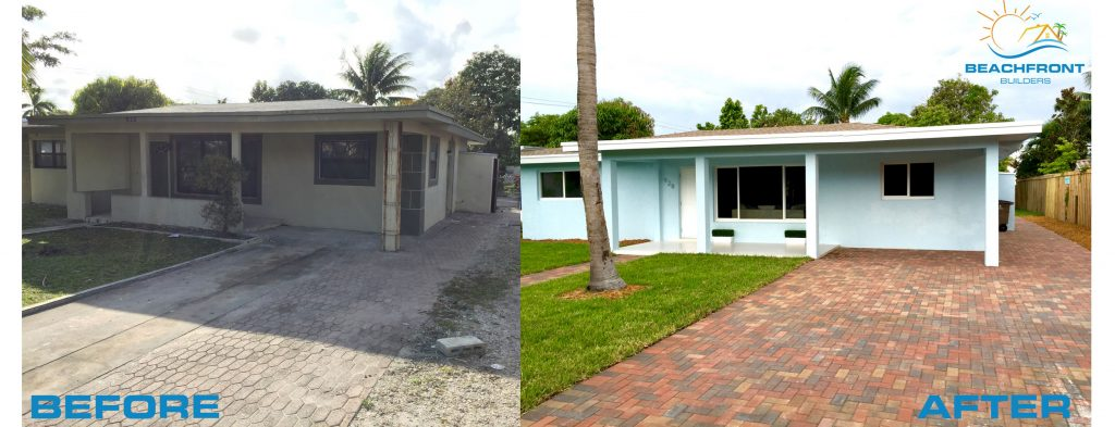 Beach house flip delray beach florida beachfront builders for House flips before and after