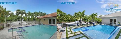 Pool Before & After